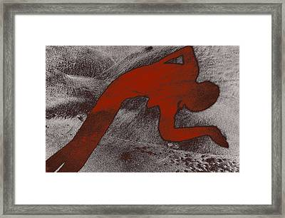 The Dancer Framed Print by Michael Mogensen