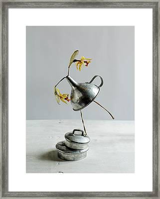The Dancer Framed Print by Nailia Schwarz