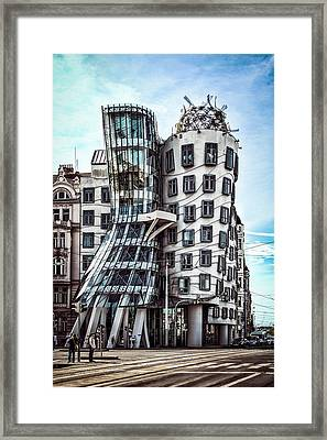 The Dancing House Framed Print