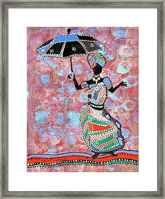 The Dancing Lady Framed Print