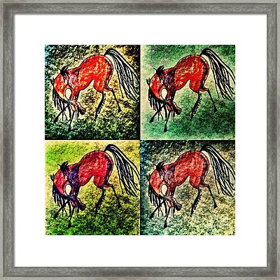 The Dancing Pont Framed Print