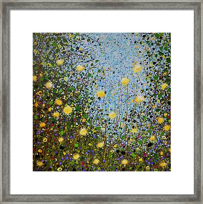 The Dandelion Patch Framed Print