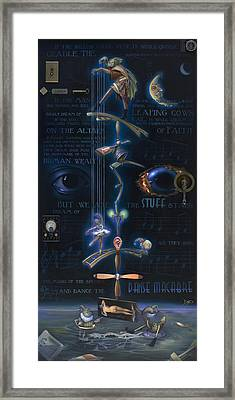 The Danse Macabre Framed Print