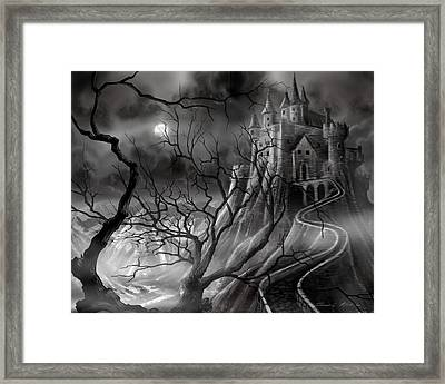 The Dark Castle Framed Print