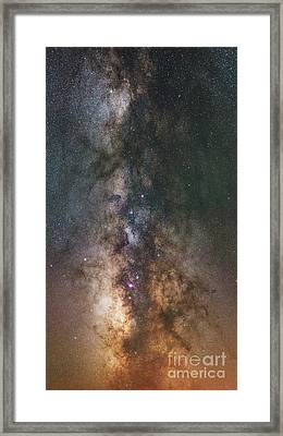 The Dark Heart Panorama  Framed Print by Michael Ver Sprill