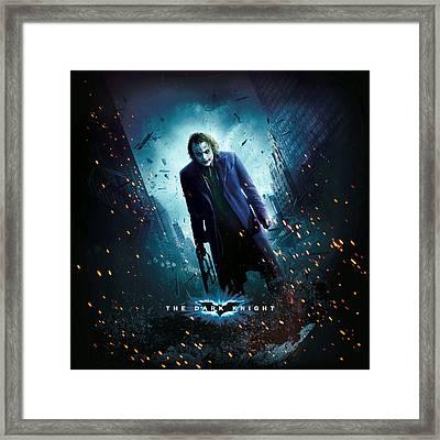 The Dark Knight 2008  Framed Print