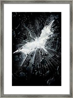 The Dark Knight Rises 2012  Framed Print