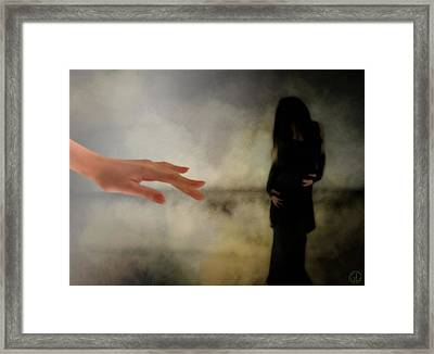 The Dark Little Sister Framed Print