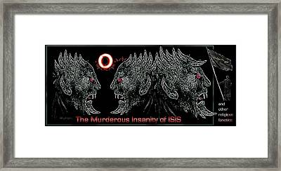 The  Dark  Ones Framed Print by Hartmut Jager