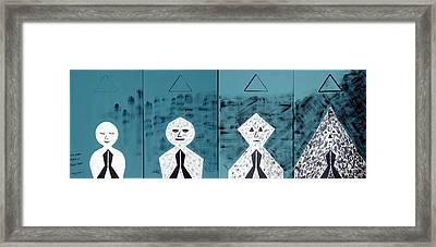 The Dark Path Of Trim-tram Framed Print by Alex Mortensen