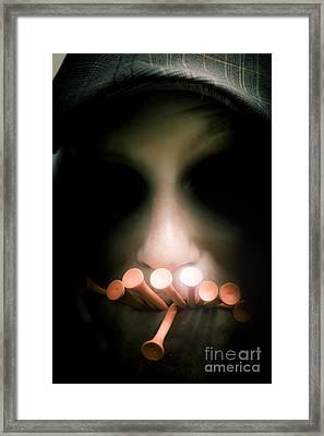 The Dark Side Of Golf Framed Print by Jorgo Photography - Wall Art Gallery