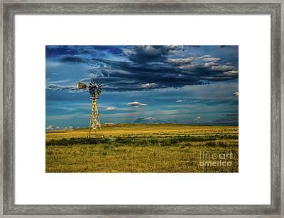 The Dark Wind Framed Print