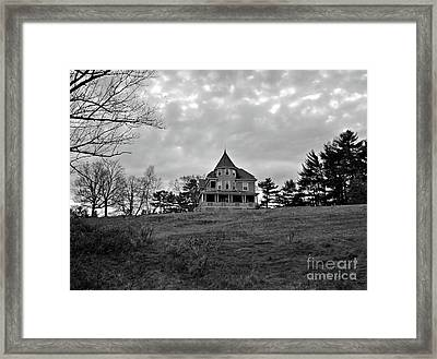 The Darkest Hour Framed Print by Mary Ann Weger