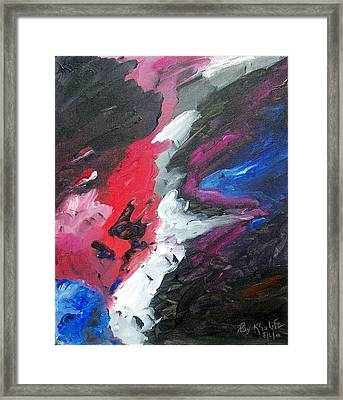 The Darkness  Framed Print