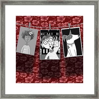 The Darkroom  Framed Print
