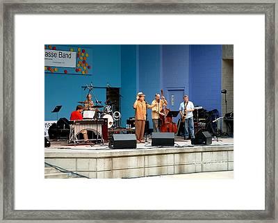 The David Basse Band Framed Print