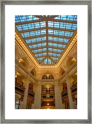 The David Whitney Building Framed Print