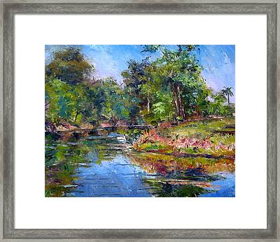 The Davie Canal Framed Print by Mark Hartung
