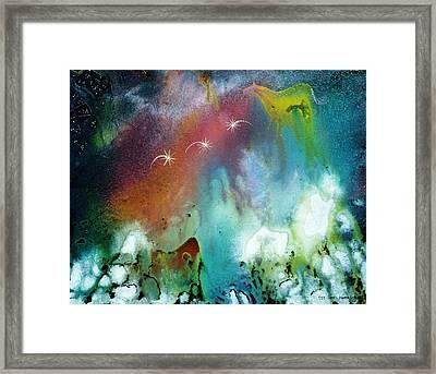 The Dawn Horse Framed Print by Lee Pantas