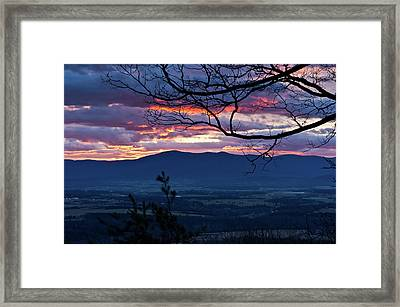 Framed Print featuring the photograph The Dawn Of 2017 by Lara Ellis