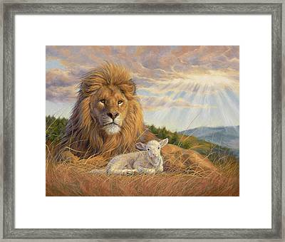 The Dawning Of A New Day Framed Print by Lucie Bilodeau