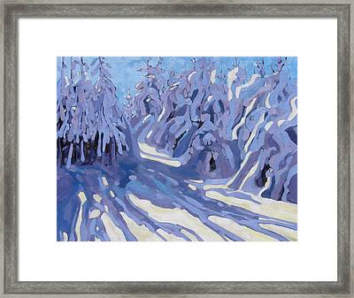 The Day After The Storm Framed Print