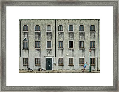 The Day Nothing Happened Framed Print by Piet Flour