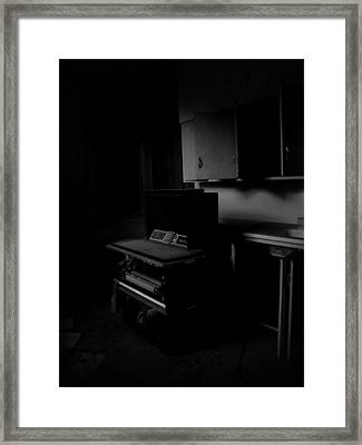 The Day The Music Died Framed Print by Jessica Brawley
