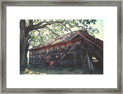 The Day Things Fell Apart Framed Print by Laurie Search