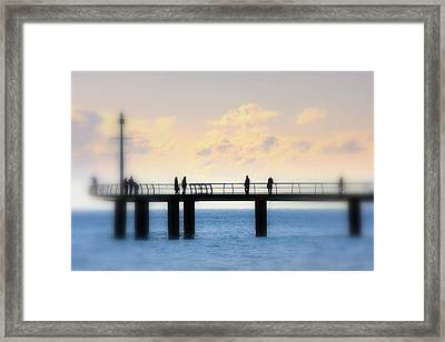 The Day We Met Framed Print