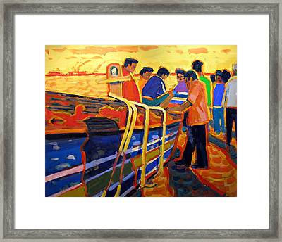 The Days Catch Framed Print by Brian Simons