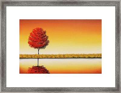 The Day's Repose Framed Print by Rachel Bingaman