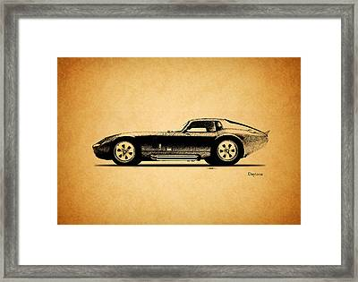 The Daytona 1965 Framed Print by Mark Rogan
