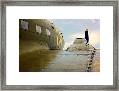 The Dc3 Dakota  Framed Print by JC Findley