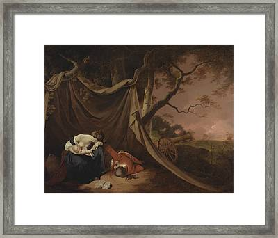 The Dead Soldier  Framed Print