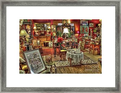 The Dealer Greensboro Antique Mall Greensboro Georgia Art Framed Print