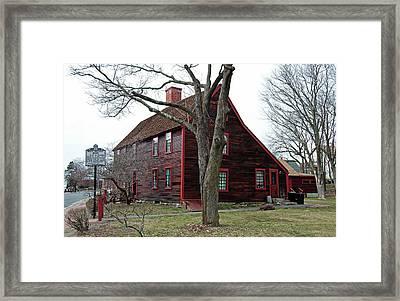 The Deane Winthrop House Framed Print