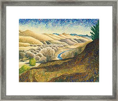 The Dearborn River Framed Print by Dale Beckman