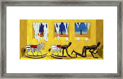 The Death Of Innocence Framed Print