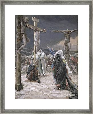 The Death Of Jesus Framed Print