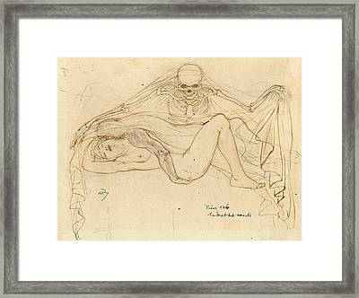 The Death Of The Lovers Framed Print