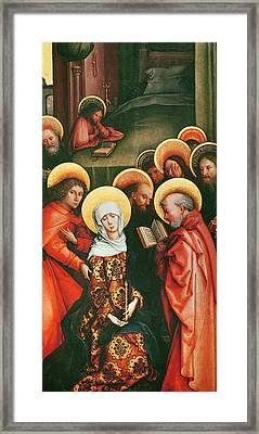 The Death Of The Virgin Framed Print