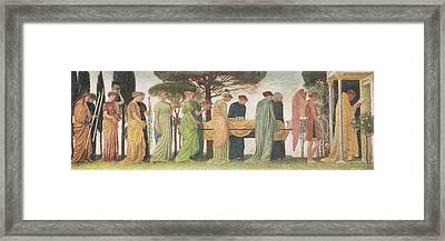 The Death Of The Year Framed Print