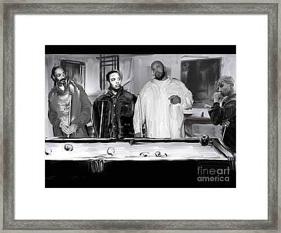 The Deathrow Ratpack Framed Print