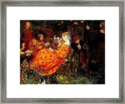 The Deceitfulness Of Riches Framed Print by Eleanor Fortescue-Brickdale