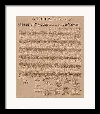 Us Congress Framed Prints