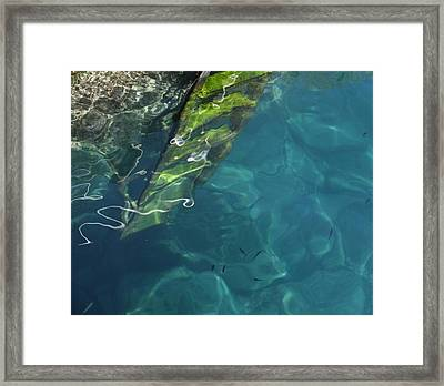 The Deep Framed Print by Pat Purdy