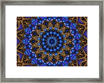 The Deep Framed Print by Robert Orinski