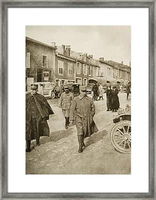 The Defender Of Verdun  General Petain Framed Print