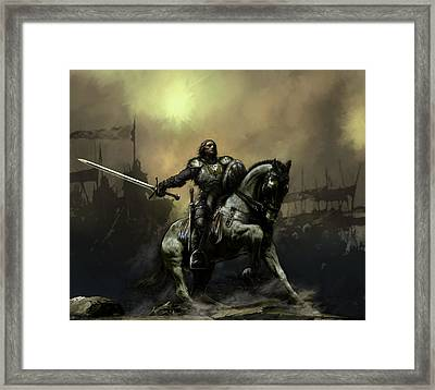 The Defiant Framed Print